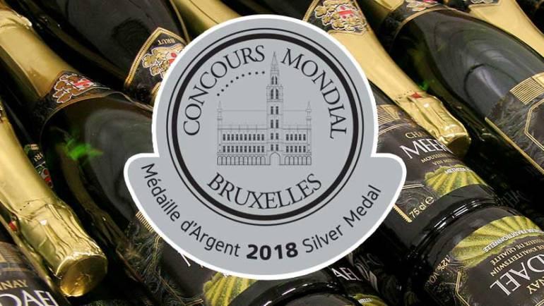 Dubbel zilver op Concours Mondial de Bruxelles in Beijing