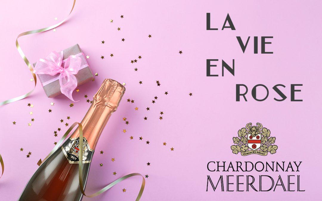 """Chardonnay Meerdael ziet """"La vie en rose"""""""