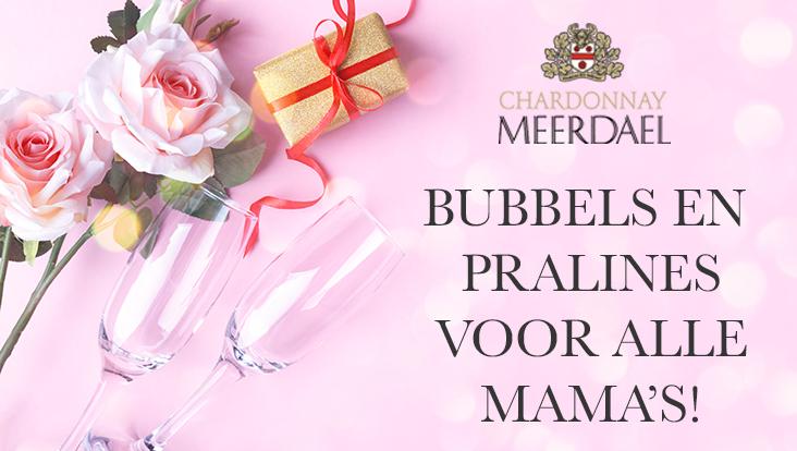Bubbels en pralines voor alle mama's!