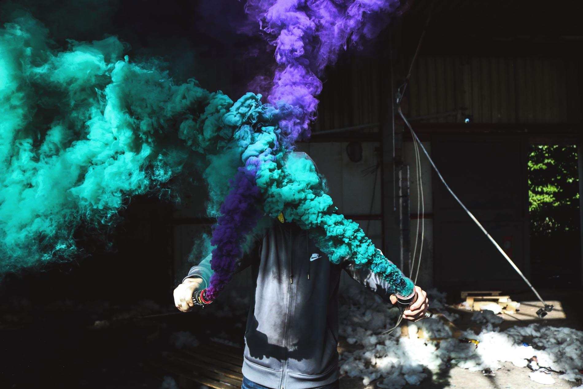лучшие картинки с дымом