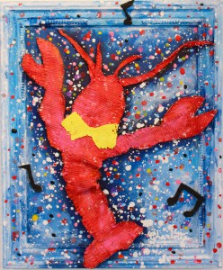 creative lobster art