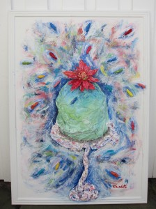 """Sprinkles"" 106x76cm"