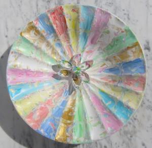 """""""Happy Carneval Colors"""" Diameter 29 cm"""
