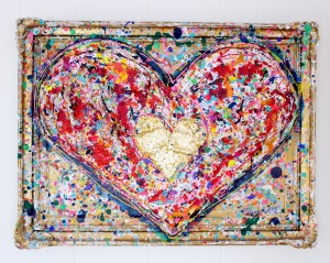 charlotte_olsson_art_design_pattern_swedishart_champagne_recyclingart_silk_exclusive_original_heart_gold_painting_interior_love_colorful