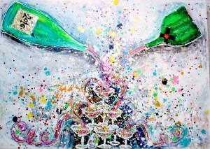 charlotte_olsson_art_design_pattern_swedishart_champagne_recyclingart_silk_exclusive_original_painting_gift_inspiration_interior_colorful_swedishinterior
