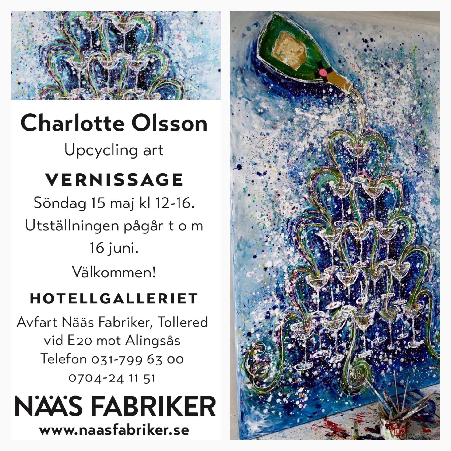 Charlotte olsson Art Konst Artist Konstnär Upcyclingart colorful swedishart original