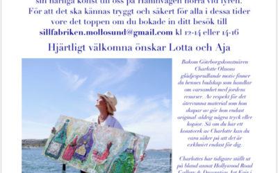 Pop-up exhibition at Sillfabriken Mollösund