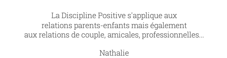 Avis 5 Charlotte Van Ingelgem Discipline Positive