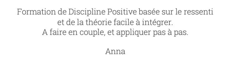 Avis 8 Charlotte Van Ingelgem Discipline Positive