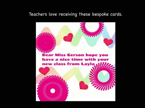 Thank you card website