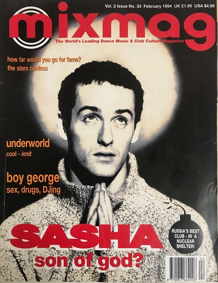 Mixmag Cover 1994
