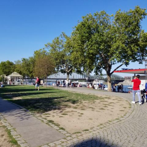 Rhine Promenade, Cologne