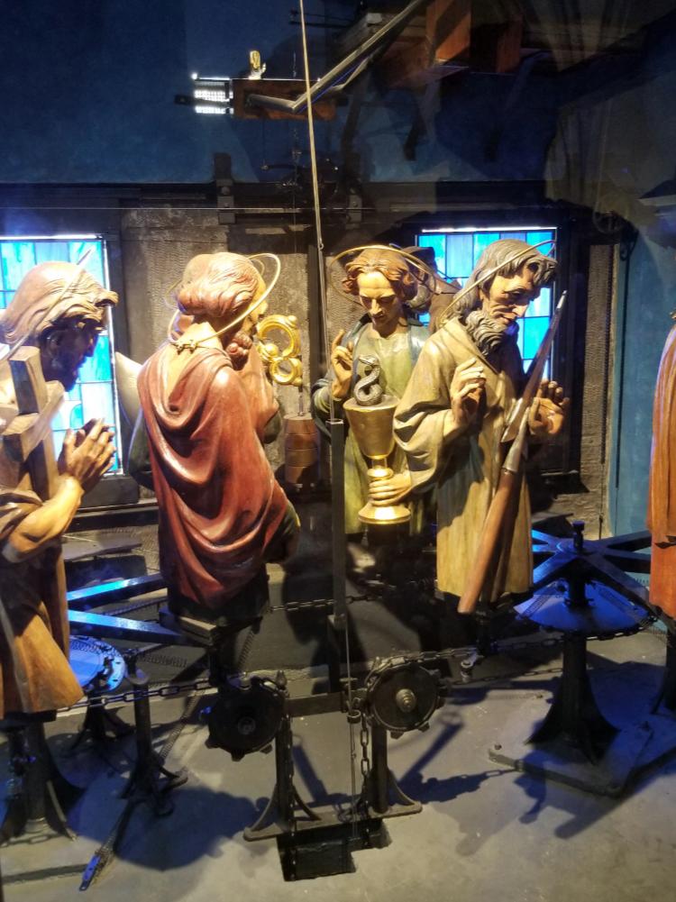 Inside the Prague Astronomical Clock
