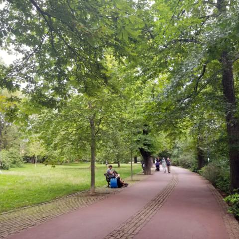 Letná Park, Prague