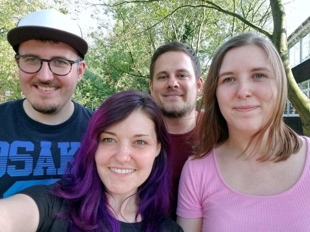 Schotti, Sam, Jan and Kaia
