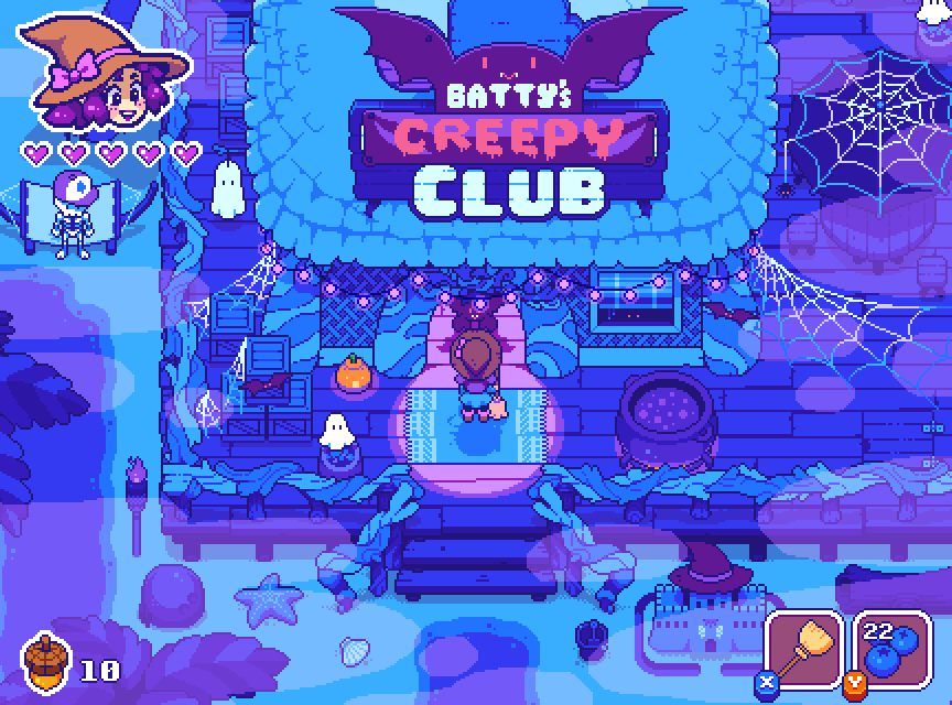 Batty's Creepy Club