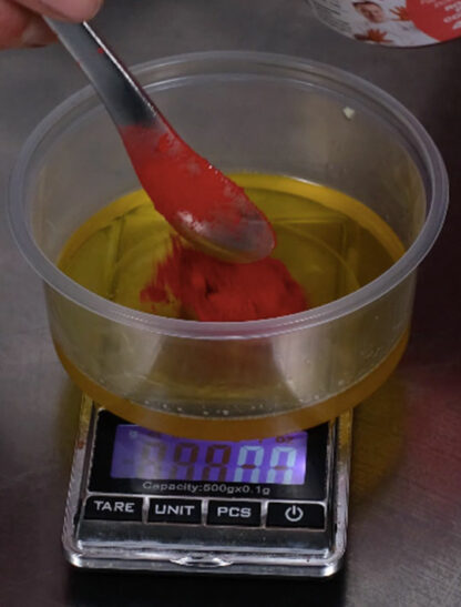 How to measure your cocao butter
