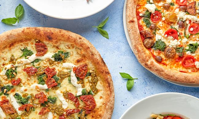 Ofenfrische Pizza Vadoli