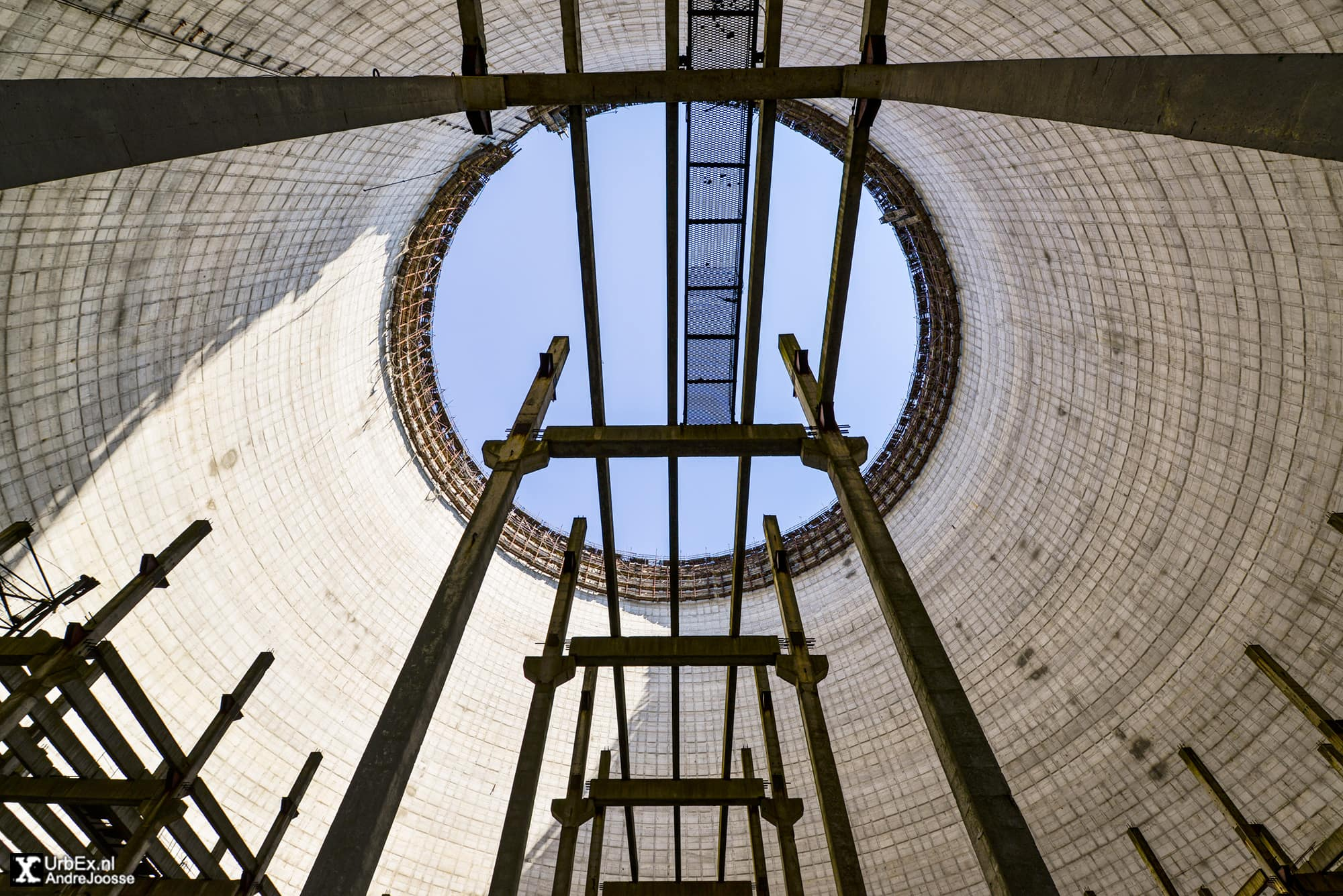 Сooling towers of the Chernobyl Power Plant