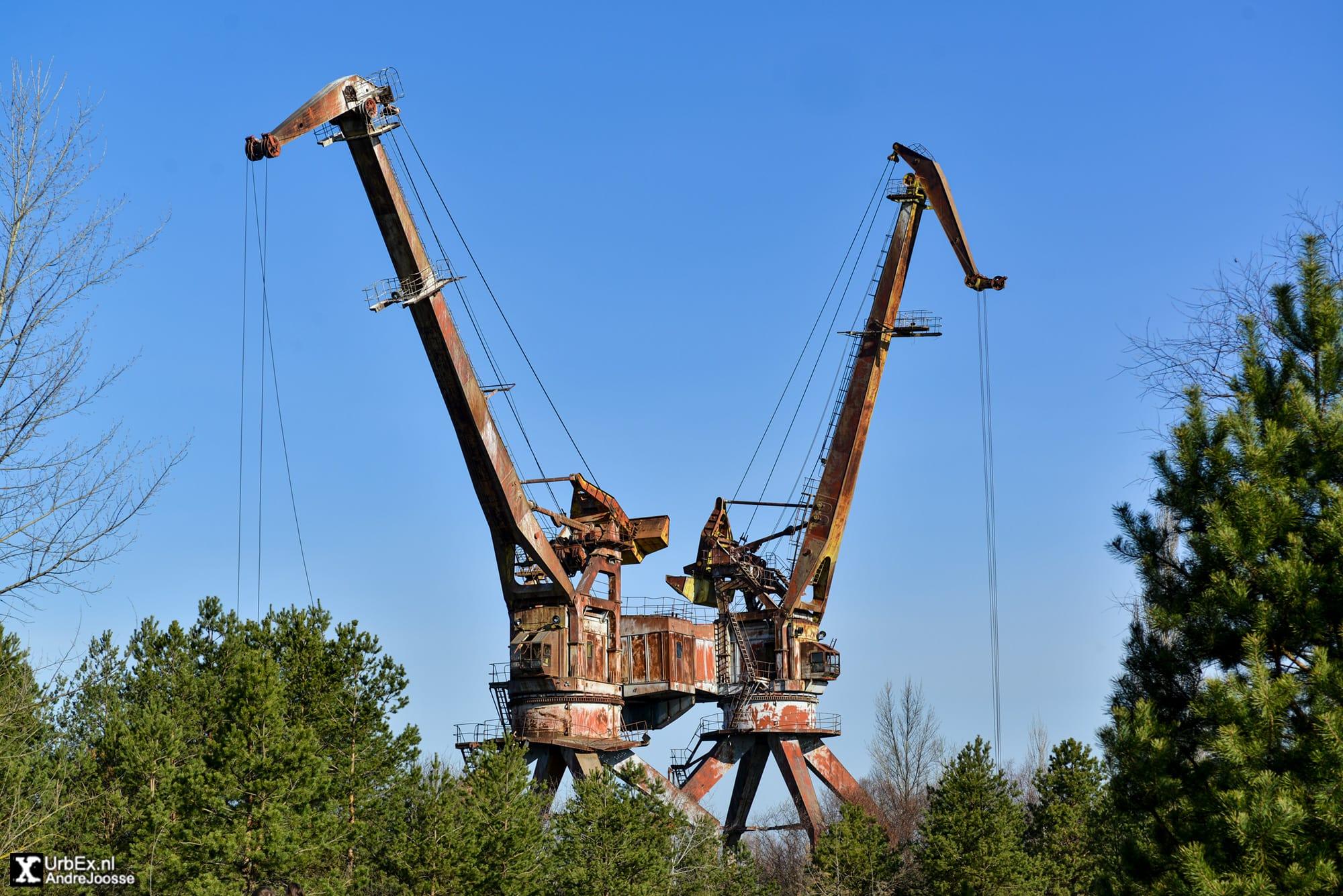 Pripyat Cargo Port