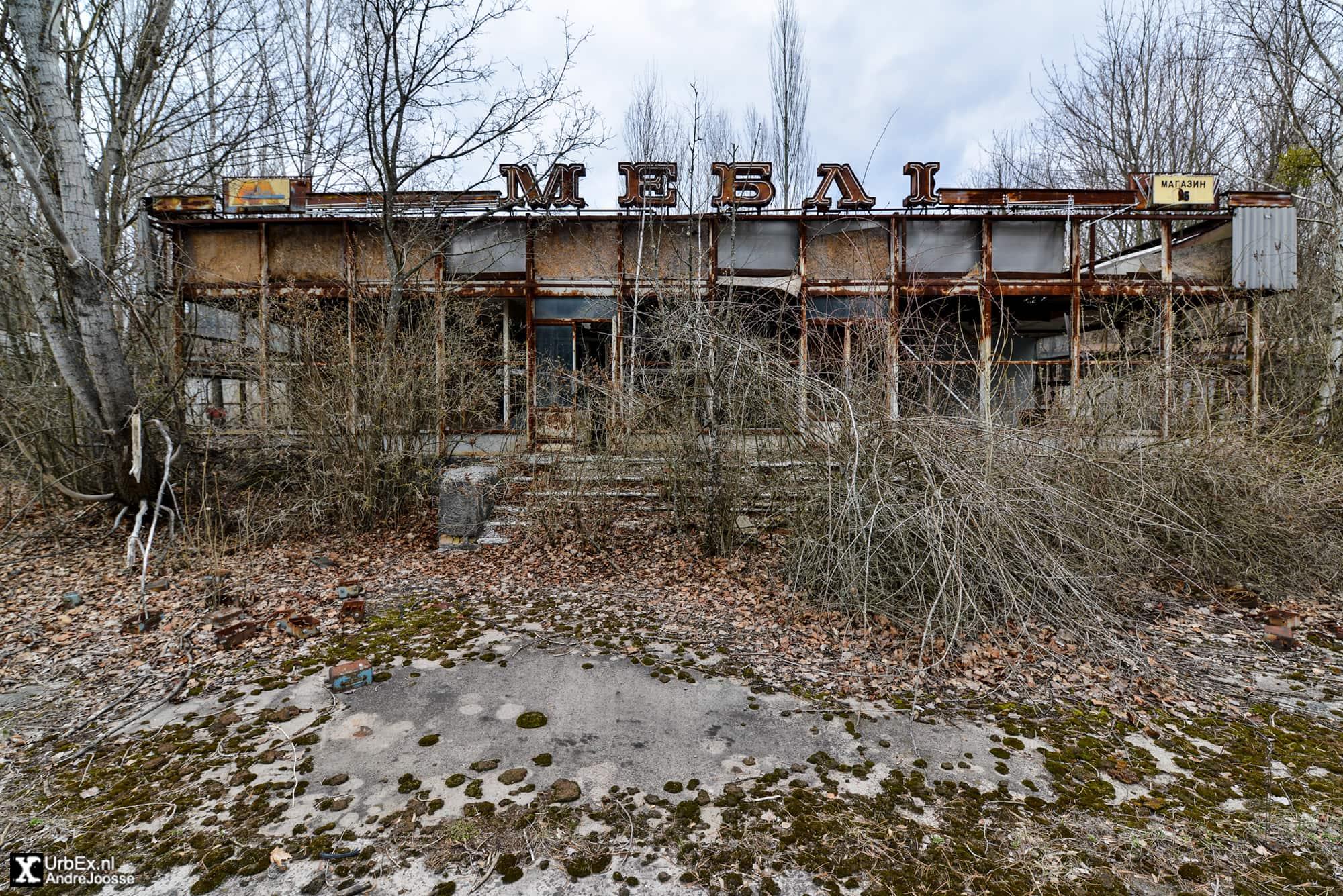 Pripyat Retail: Furniture store
