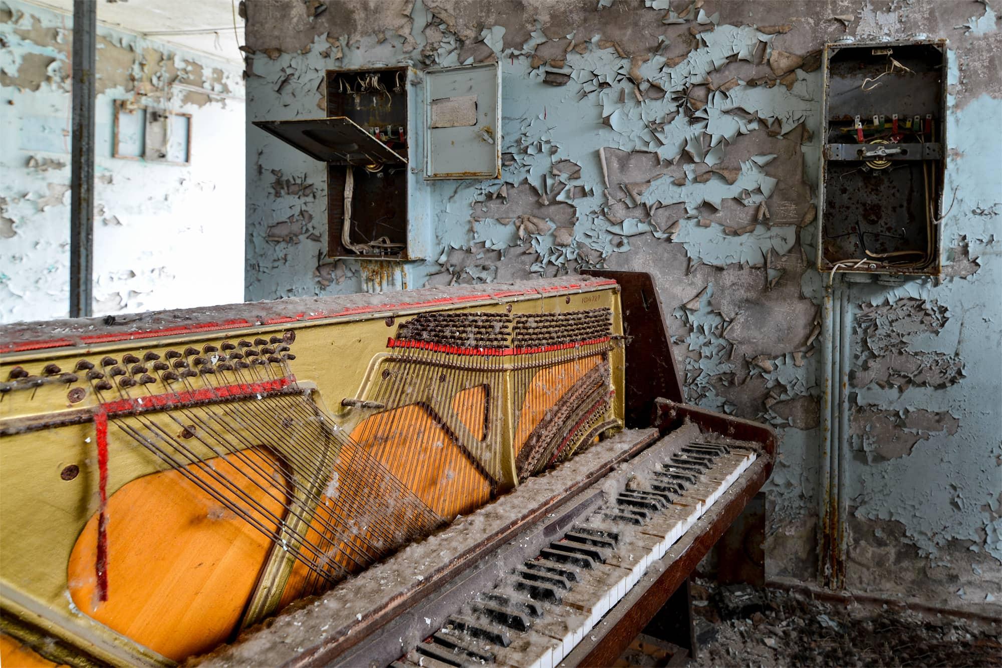 Pripyat Retail: The Piano Shop