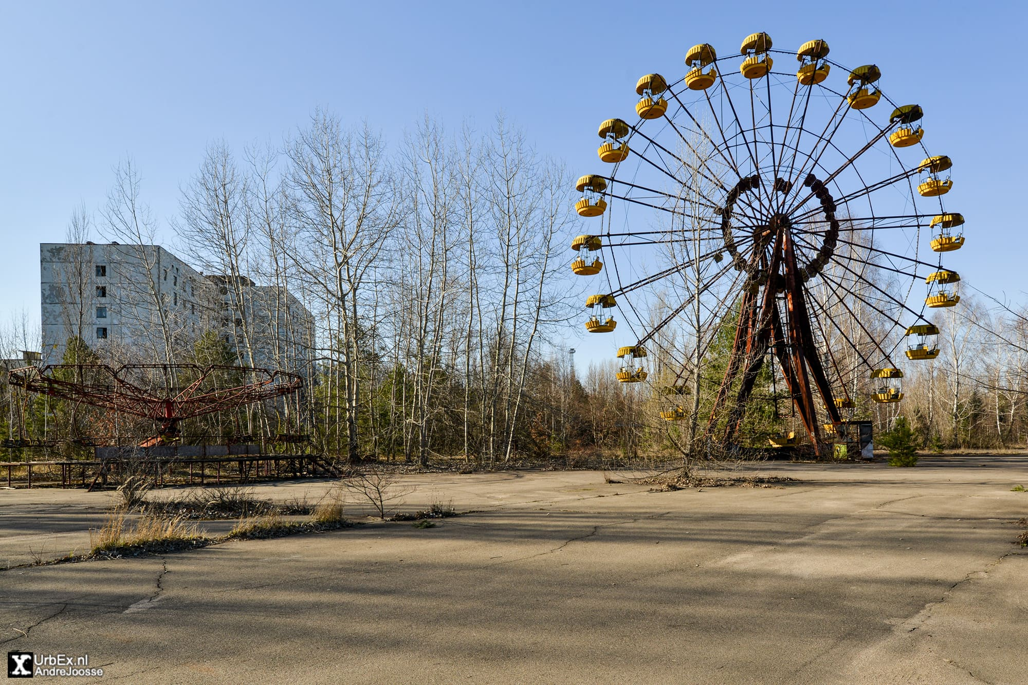 Pripyat amusement park