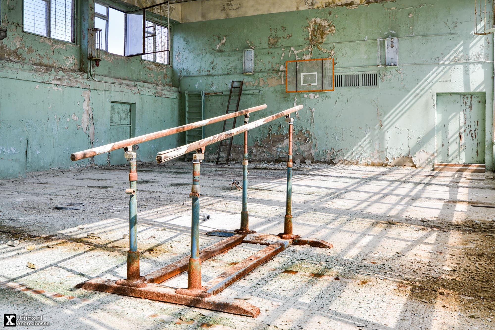 The City Vocational Technical School № 8 in Pripyat