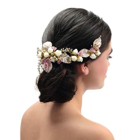 Poirier Braut Accessoires – Braut Blumen Kopfschmuck | Cherry Blossom Brautatelier & Brautmode Velden
