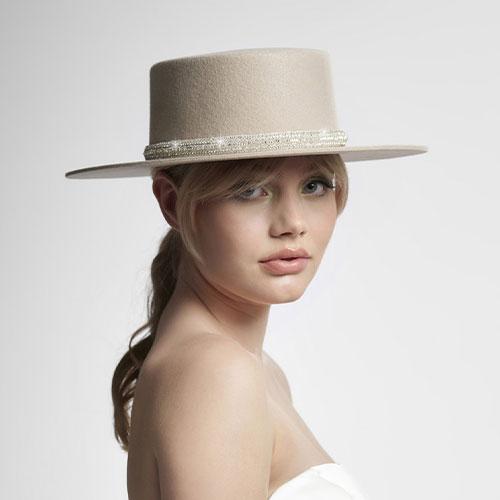 Poirier Brautaccessoires – Hut für Braut | Cherry Blossom Brautatelier & Brautmode Velden