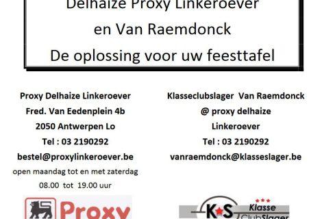 Proxy Delhaize linkeroever – Klasseclubslager Van Raemdonck