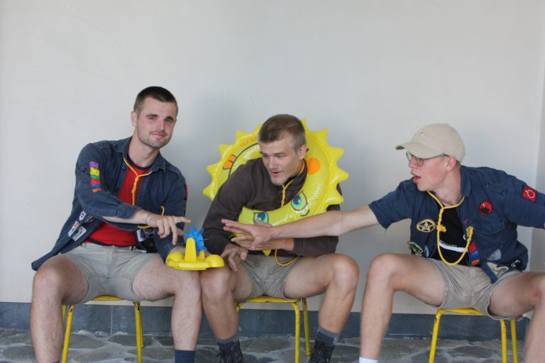 Oscar, Diederik & Bas - speelclubjongens