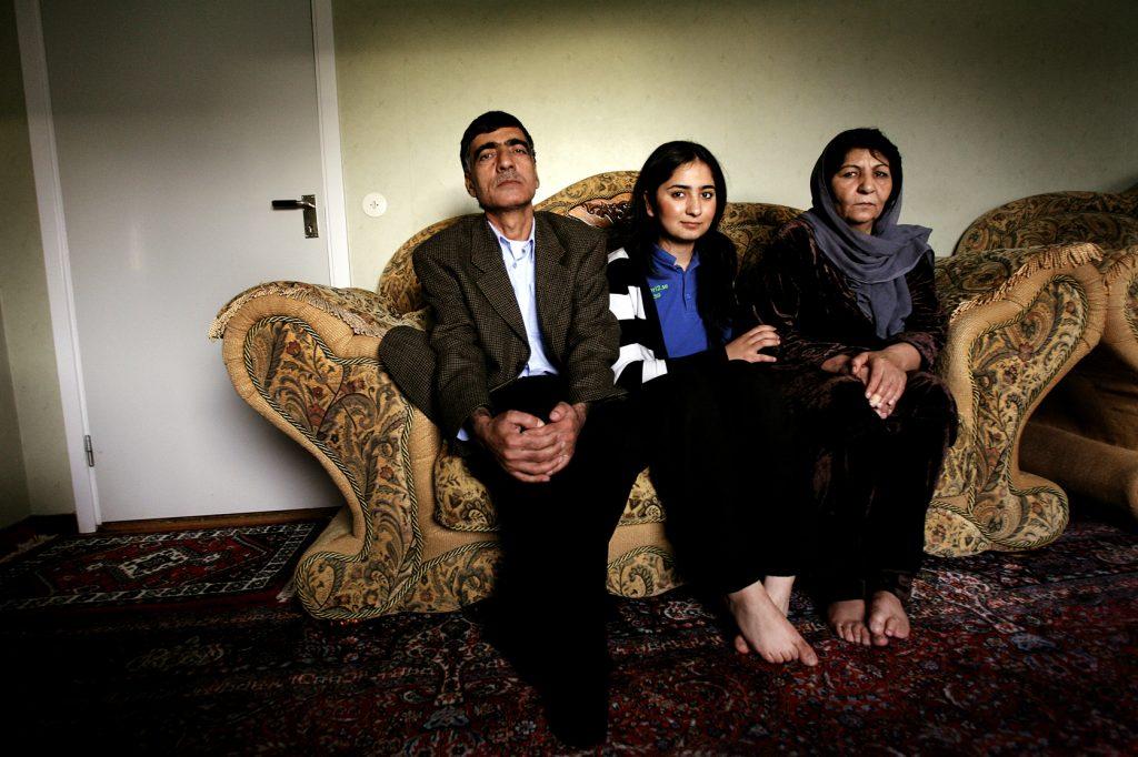 Humma Yakobi *** Local Caption *** Tjej från Afghanistan som älskar övertygad sin familj om sin rättt att spela fotboll