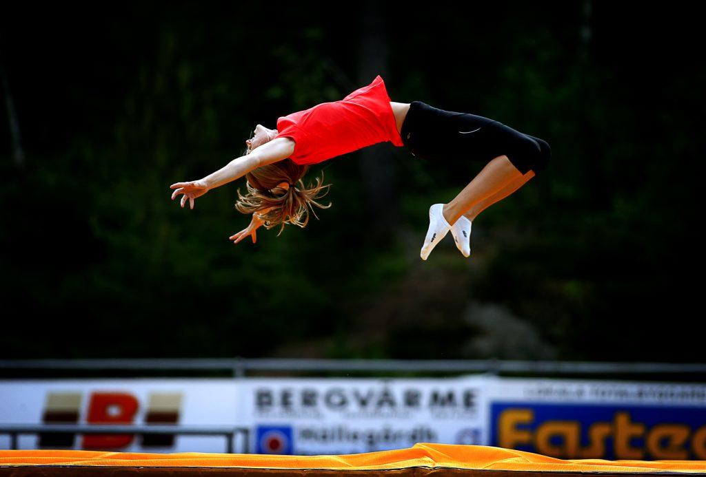 Ebba Jungmark *** Local Caption *** En ny höjdhoppare, Ebba Jungmark. Snart klar för VM