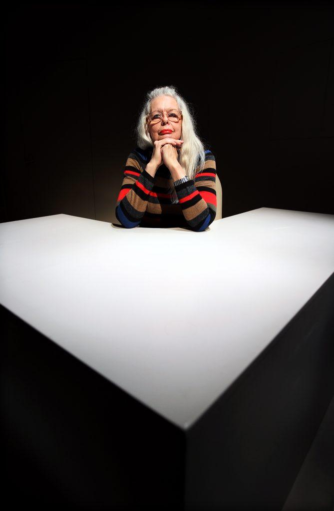 Vinkel: Marianne Lindberg De Geer sätter upp egna pjäsen