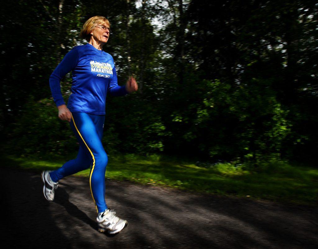Karpgränd 3, bollstanäs, Väsby Kontaktperson: Eina Roxström  *** Local Caption *** Vinkel: Eina gör sitt 30:e raka maraton. det blir också hennes sista (hon har även bestigit kilimanjario)