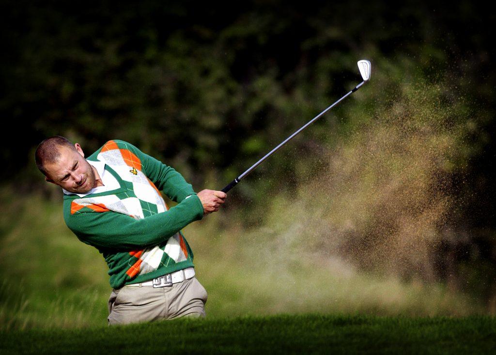Porträtt av Andreas Ljunggren *** Local Caption *** Golf