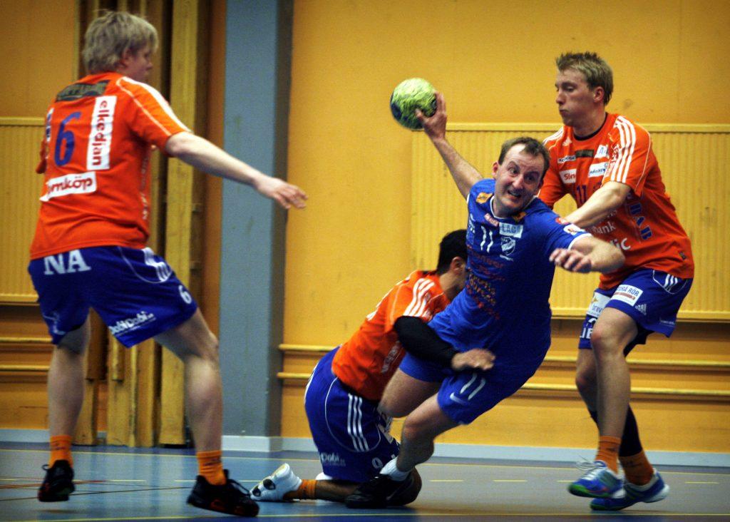 Björn Lindberg  *** Local Caption *** Björn Lindberg gör comeback i handboll