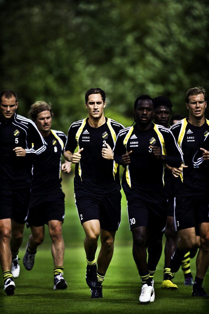 Niklas Backman  *** Local Caption *** Niklas Backman gör succé i AIK i år, spelar med U21-landslaget 3/9 och 7/9.