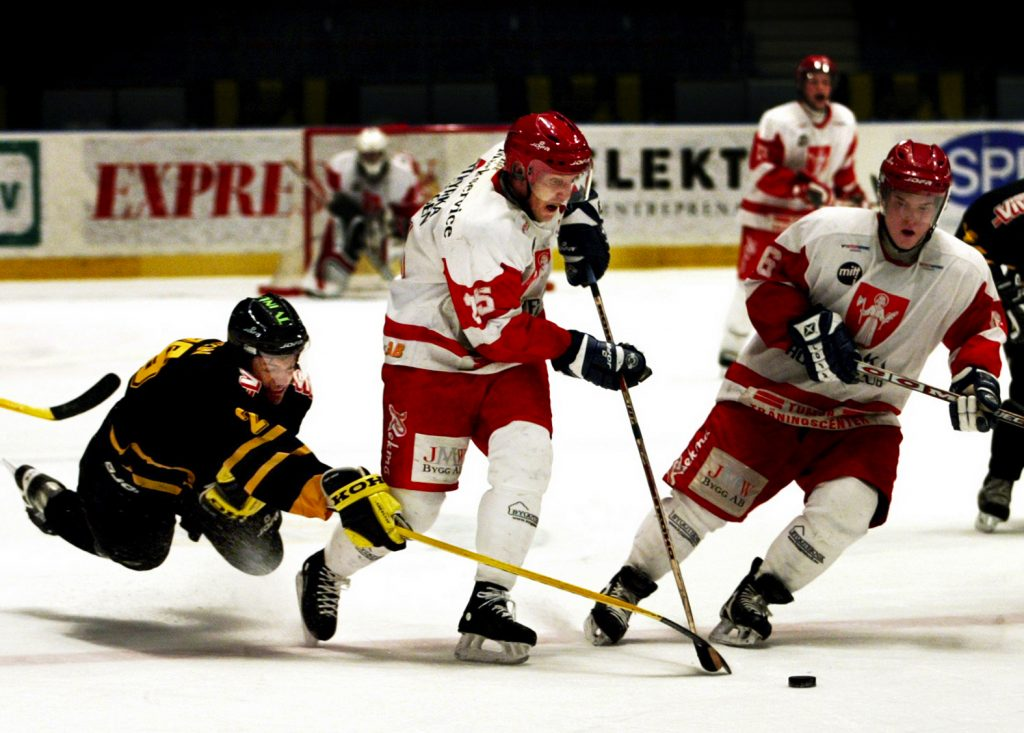 Porträtt på hockey-vagabond *** Local Caption *** xxx