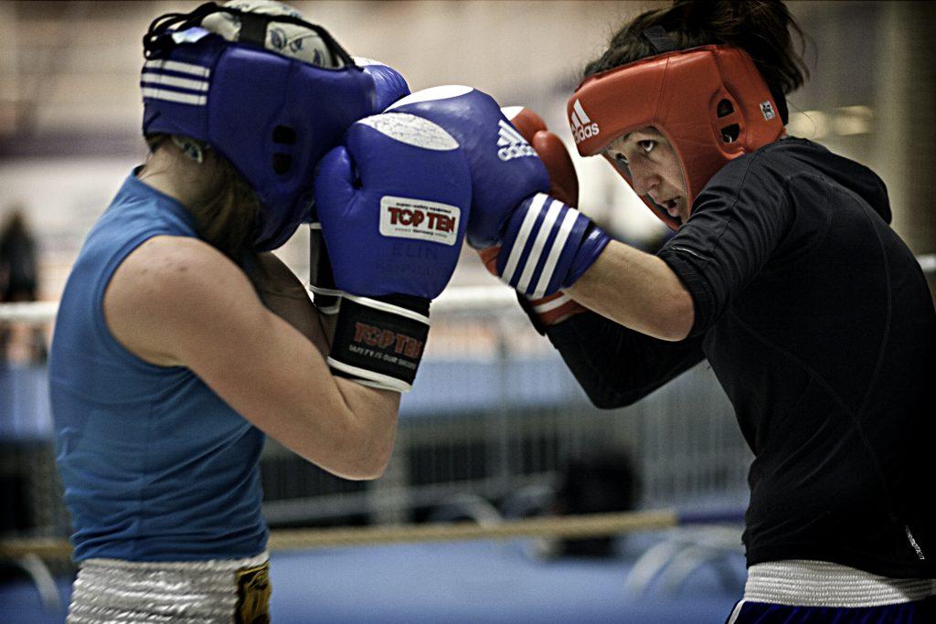 Boxning: Jennie Hardings trŠnar infšr