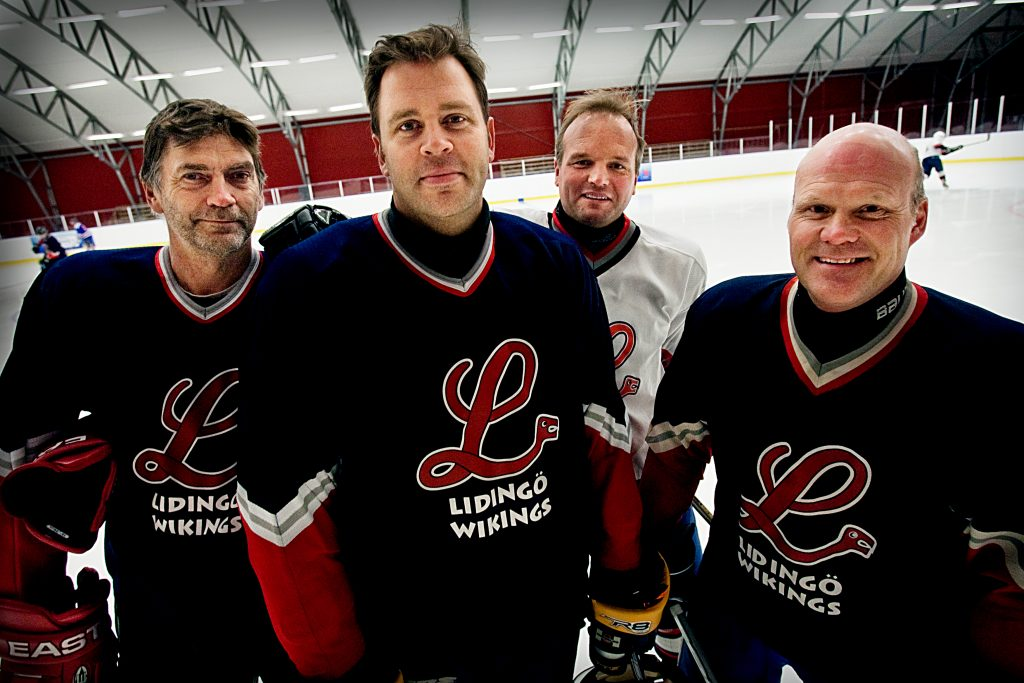Jurassic Šr ett nybildat lag av hockeyveteraner.