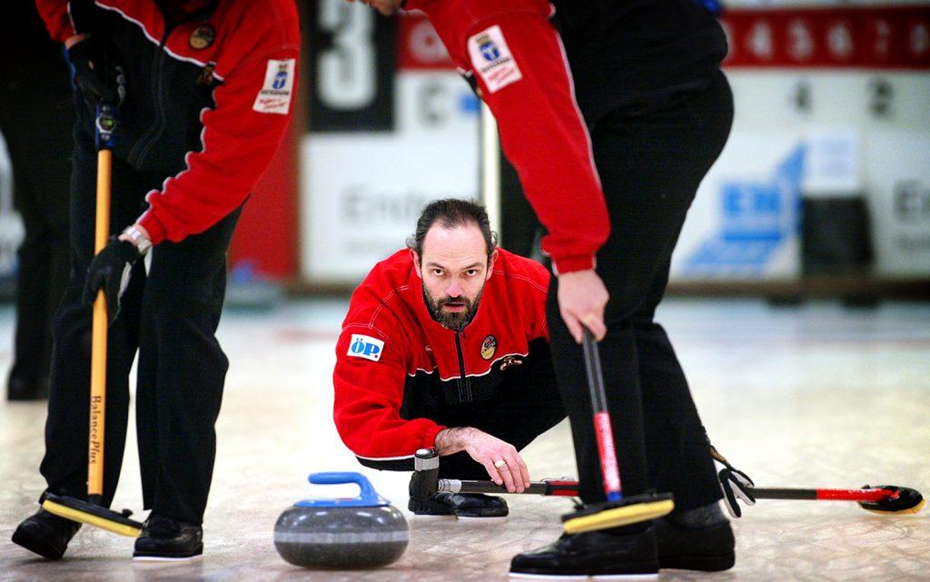 Peter Narup (Curling) *** Local Caption *** Peter Narup är ETTA i Sveriges bästa lag som nu tar sats mot OS