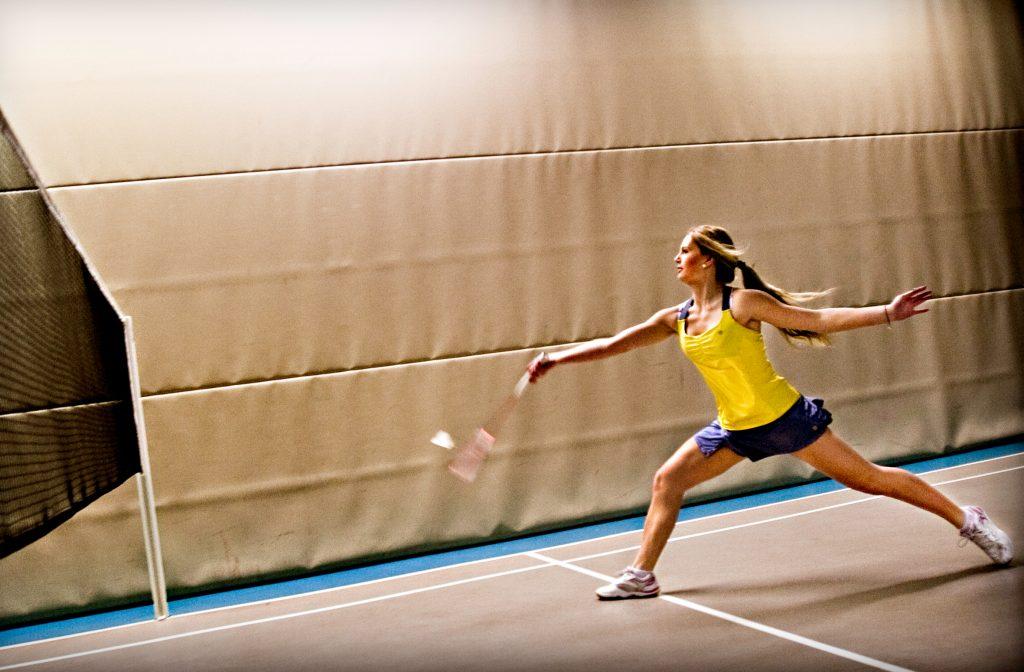 Klara Nistad, superdupertalang i badminton, ska till junior-EM, bara 15 Œr gammal.