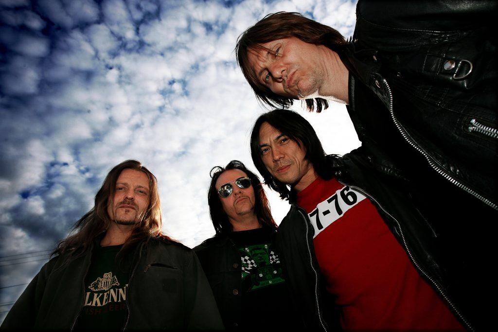 Glorious Bankrobbers *** Local Caption *** Sollentuna band från 1980-talet återuppstår
