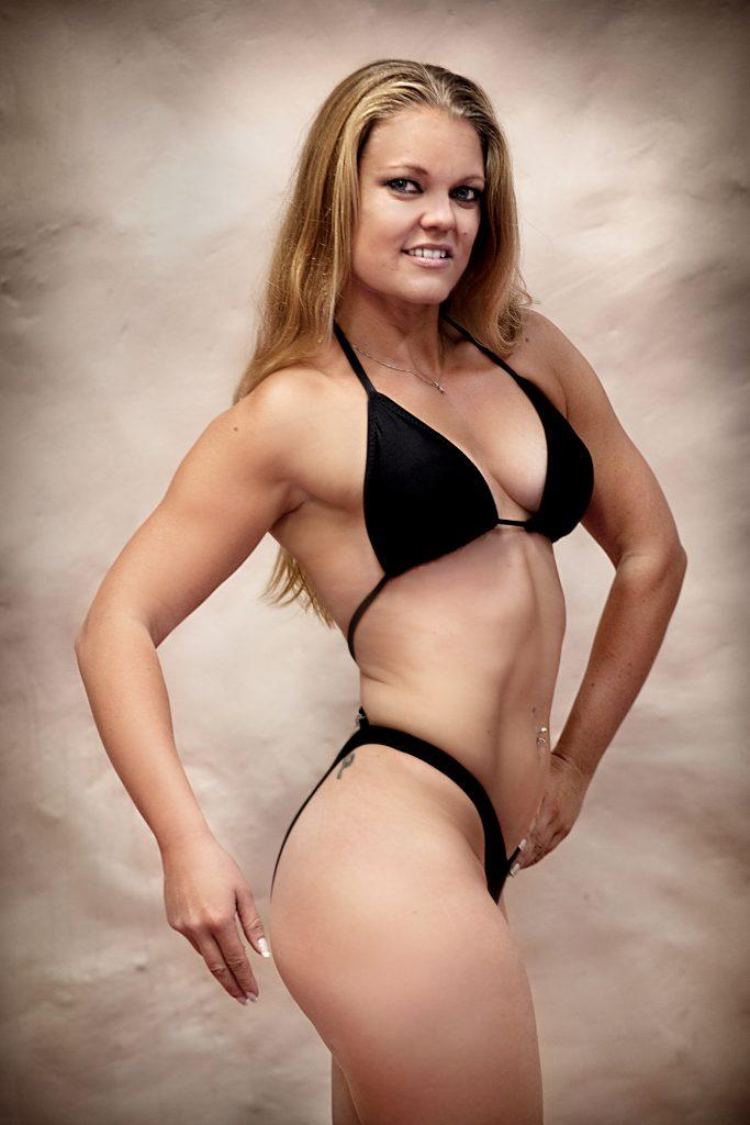 Vinkel:ÊJohanna Hasmats ska tŠvla i SM i fitness (bodybuilding light)