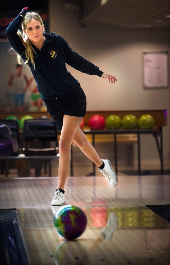 Vinkel:Malin Brodin svensk mästare i bowling.