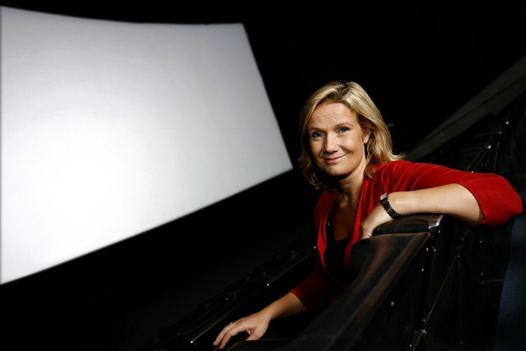Cissi Elwin *** Local Caption *** Filminstitutets Cissi Elwin tipsar om en bra filmkväll på bio, tipsar om hösstens filmer