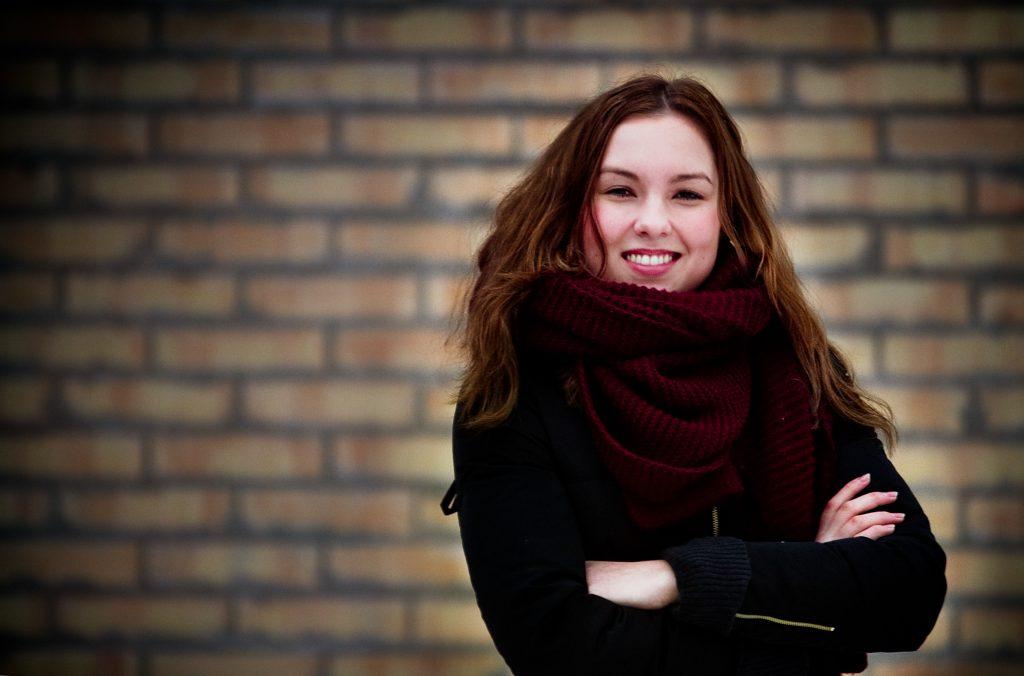 Vinkel:ÊStephanie Matti, 19 har startat ett eget servicefšretag med 30 anstŠllda ungdomar.