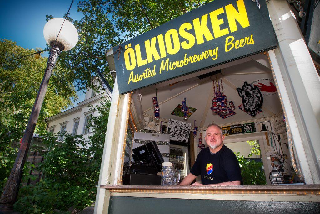 Vinkel: Öl-Mange, en institution på Mosebacke.